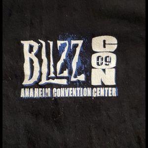 BLIZZ CON '09•s/s black•UNISEX•Anaheim•sz.Lg.